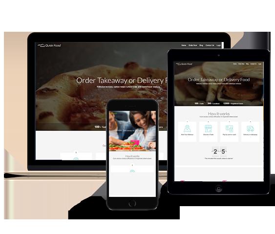 Restoranlar için Paket Servis iOS Android Mobil Uygulaması ve Web Site