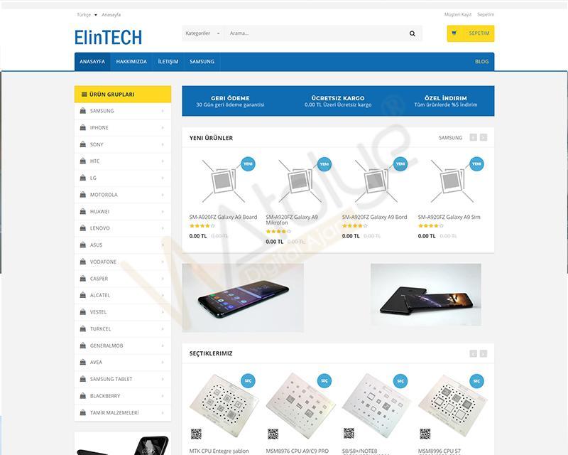 Teknik Malzemeci- Elintech